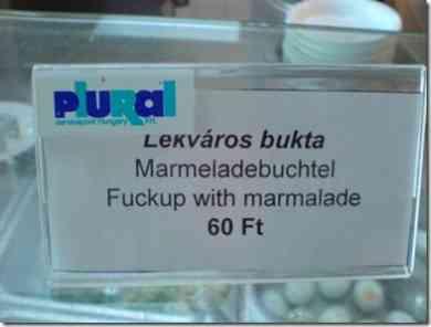 Lekváros bukta = Fuckup with marmalade