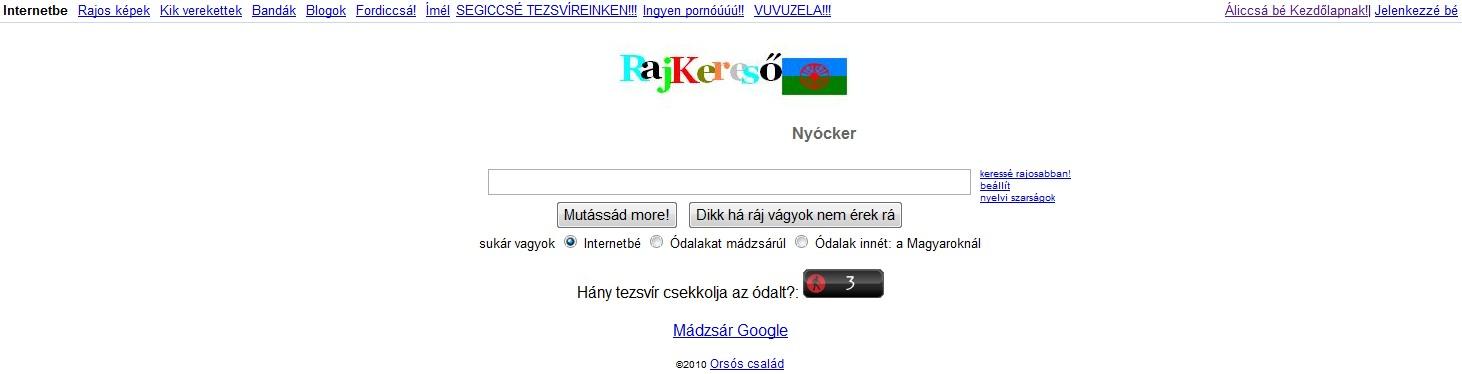 cigány Google