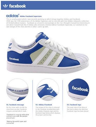 Adidas Facebook cipő