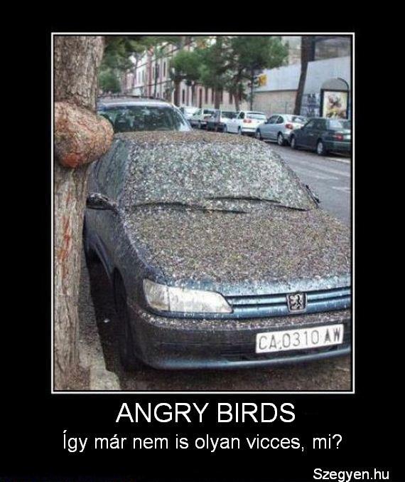 Angry Birds nem online játék