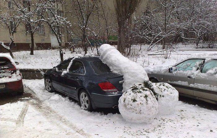 Amikor egy fasz beáll az autód mögé...