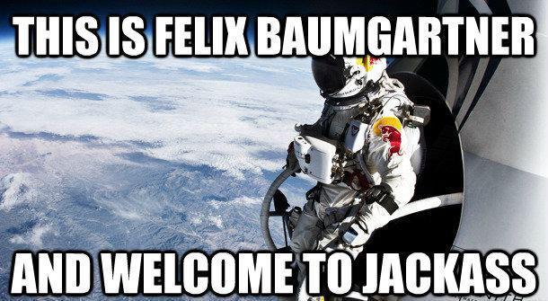 Felix Baumgartner space jump 2012