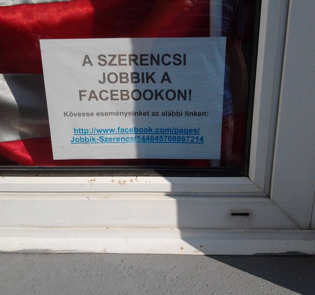 A szerencsi Jobbik a Facebookon!