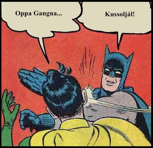 Oppa Gangnam Style vs. Batman
