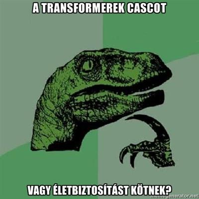 A Transformerek milyen biztosítást kötnek?